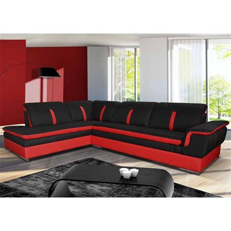 plaid pour canapé canapé angle gauche en tissu savanah noir et pvc