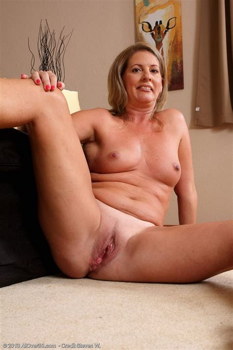 Dirty Blond Milf Strips Down To Just Her High Heels Pichunter