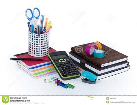 fournitures bureaux fournitures de bureau d 39 école et photo stock image 38831487
