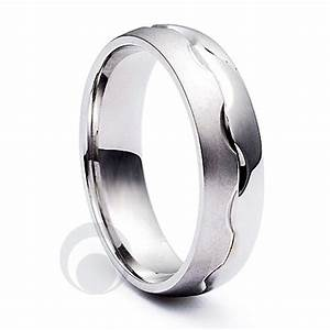 Combination platinum wedding ring from the platinum ring for Platinum wedding rings