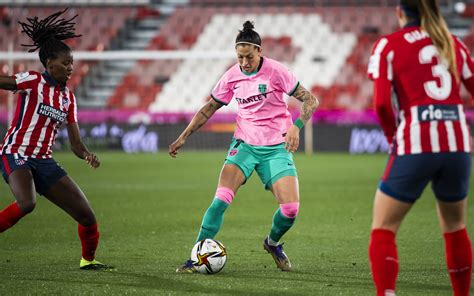 Atlético Madrid Women v Barça Women (1-1, 3-1 pens)
