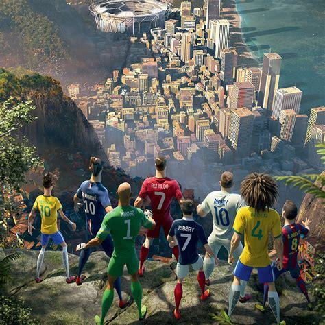 nike si e gli sfondi con effetto parallasse per iphone e mondiali di calcio brasile 2014