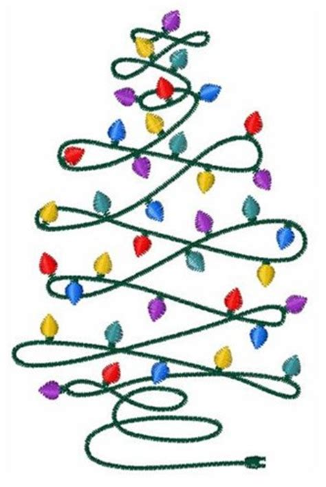 christmas tree light patterns tree lights embroidery design from embroidery patterns grand slam designs