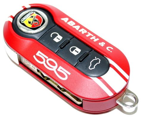 Fiat Key Covers by Fiat 500 595 Abarth Co 50th Anniversary Key Cover