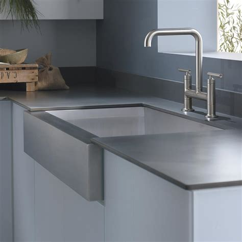 kitchen enchanting kohler farmhouse sink   modern