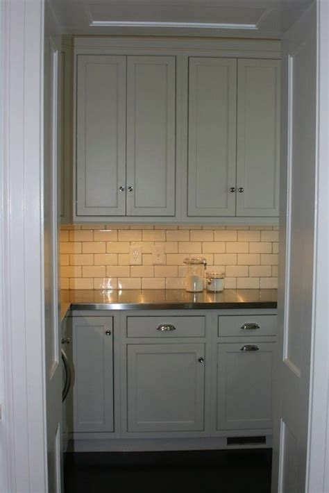 butler pantry traditional kitchen west  cabinet