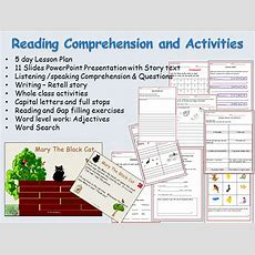 Reading Comprehension, Text, Sentence And Word Work, Presentation, Lesson Plans & Worksheets By