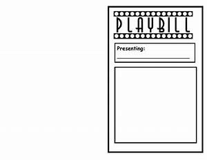readers theater playbill template by lisa steele tpt With playbill template free