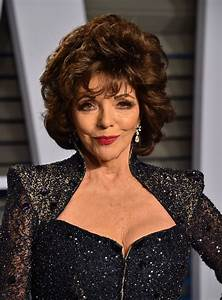 Joan Collins – 2018 Vanity Fair Oscar Party in Beverly Hills