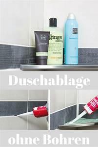 Haltegriffe Dusche Ohne Bohren : duschablage ohne bohren badezimmer duschablage ablage ~ Watch28wear.com Haus und Dekorationen