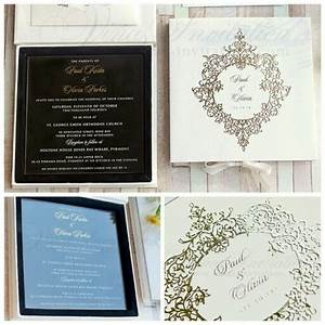 77 best acrylic wedding invitation images on pinterest With box wedding invitations australia