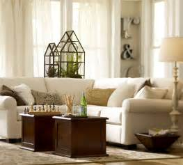 pottery barn living room design pinterest