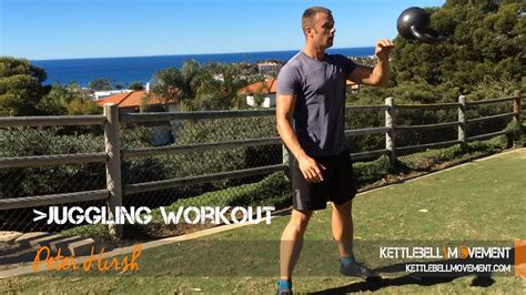 juggling workout kettlebell gym