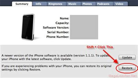 how do you restore an iphone how to downgrade iphone firmware v 2 0 to earlier versions