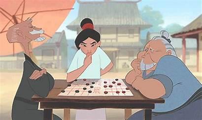 Mulan Board Disney Games Chess Scene Gaston