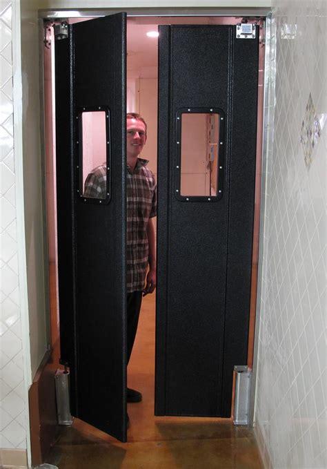 restaurant kitchen doors pro tuff doors swing doors