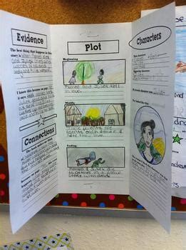 common core based trifold book report  jodilyn creates tpt