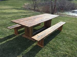 Handcrafted, Farm, House, Tables