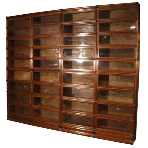 Bookcase Sale by Big Mahogany Globe Wernicke Bookcase For Sale At 1stdibs