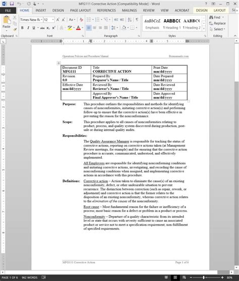 Computer Usage Policy Template by Magnificent Computer Usage Policy Template Pictures