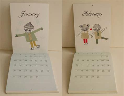 20+ New Year 2013 Calendar Designs For Inspiration