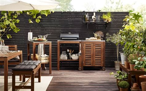 outdoor küche ikea take your kitchen outdoors this summer ikea