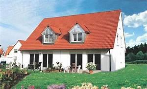 Bodentiefe Fenster Varianten : doppelhaus schumann bodentiefe fenster und moderne gauben klebl hausbau ~ Buech-reservation.com Haus und Dekorationen