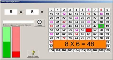 jeux pour apprendre les tables de multiplication jeux