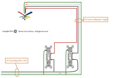 Have Ceiling Fan Light Problem The Old Switches That