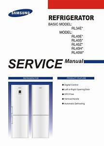 Samsung Rl40egps Rl40zgps Rl40hgps Rl40ecps Refrigerator
