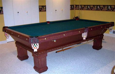 brunswick celebrity pool table model hy  creative