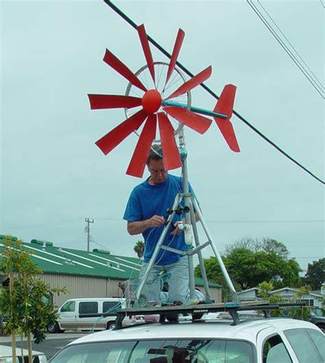 Портативный ветрогенератор . Мир невидимого