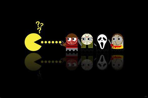 pacman horror  heroes digital art  nicowriter
