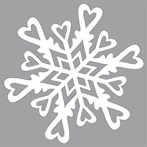 paper snowflake pattern  hearts  cut