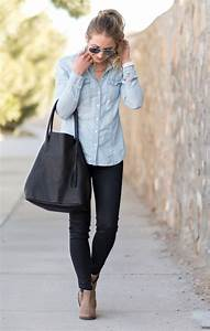 The Classic Chambray Top | Glamour-Zine