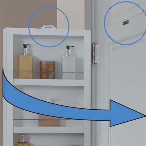 behind door storage cabinet hinge mounted mirrored cabinet hinge mounted in behind the door storage