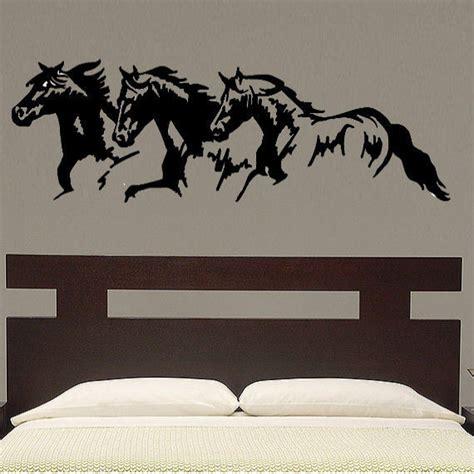 Horse Trio Vinyl Wall Decal Art Ebay