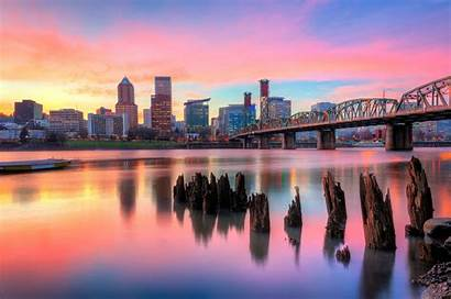 Portland Oregon Usa Wallpapers Downtown Cities Facts