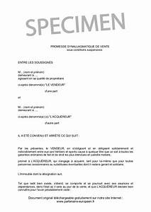 Site Vente Particulier : promesse synallagmatique de vente ~ Gottalentnigeria.com Avis de Voitures