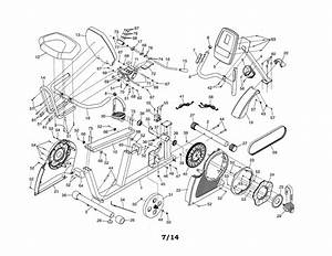 Proform 831218332 Exercise Cycle Parts