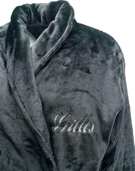 robe de chambre personnalisé homme les 17 meilleures idées de la catégorie peignoir polaire