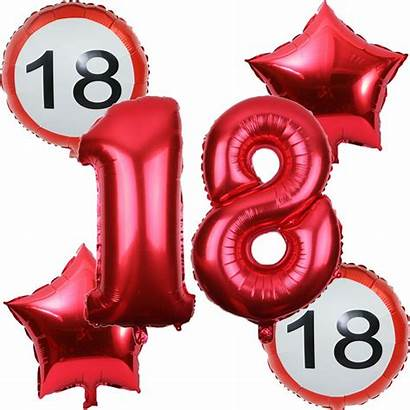 Birthday Balloon Balloons Number Adult Party Decorations