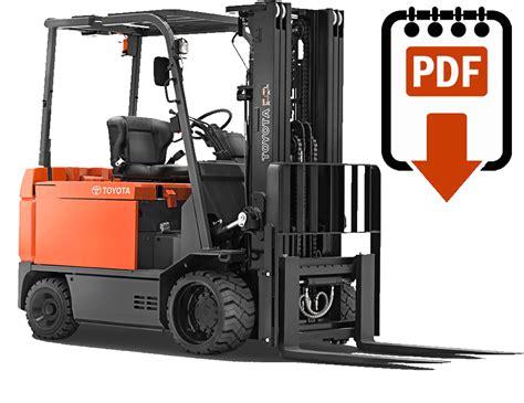 toyota forklift manuals find  lift truck manual