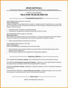8 commercial truck driver resume sample driver resume With drivers cv template