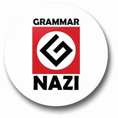 Grammar Nazi Mma Thoughts Random Badge Drunk
