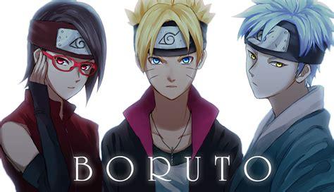 Naruto, Sasuke And Sakura Vs. Boruto, Mitsuki And Sarada