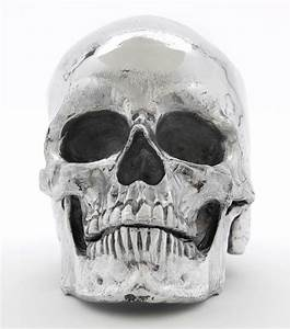 MCA Chicago Store Metal Skull