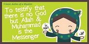 Islam Religion Facts: Islamic Quotes on The Five Pillars ...