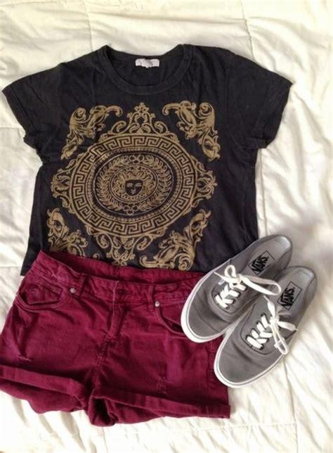 Shorts maroon shorts burgundy cranberry burgundy t ...
