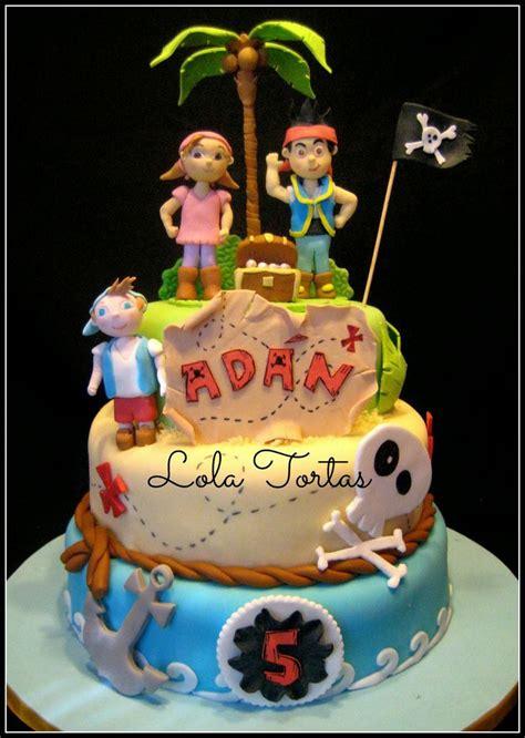 torta jake  los piratas del pais del nunca jamas